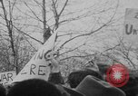 Image of Anti Vietnam War march New York City USA, 1967, second 36 stock footage video 65675073293