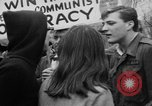 Image of Anti Vietnam War march New York City USA, 1967, second 52 stock footage video 65675073293