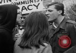 Image of Anti Vietnam War march New York City USA, 1967, second 53 stock footage video 65675073293