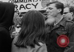 Image of Anti Vietnam War march New York City USA, 1967, second 55 stock footage video 65675073293