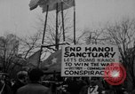 Image of Anti Vietnam War march New York City USA, 1967, second 60 stock footage video 65675073293