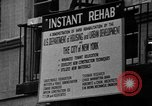 Image of instant rehabilitation New York  City USA, 1967, second 29 stock footage video 65675073296
