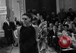 Image of fashion show Florence Italy, 1967, second 22 stock footage video 65675073297
