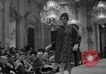 Image of fashion show Florence Italy, 1967, second 43 stock footage video 65675073297