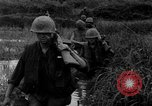 Image of Vietcong captured by Marines Vietnam, 1967, second 42 stock footage video 65675073301