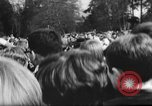 Image of hippies dancing at be-in Seattle Washington USA, 1967, second 3 stock footage video 65675073308