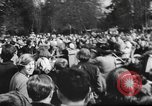 Image of hippies dancing at be-in Seattle Washington USA, 1967, second 4 stock footage video 65675073308