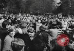Image of hippies dancing at be-in Seattle Washington USA, 1967, second 5 stock footage video 65675073308