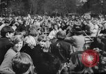 Image of hippies dancing at be-in Seattle Washington USA, 1967, second 6 stock footage video 65675073308