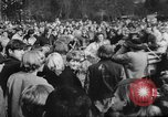 Image of hippies dancing at be-in Seattle Washington USA, 1967, second 7 stock footage video 65675073308
