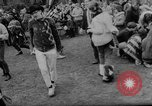 Image of hippies dancing at be-in Seattle Washington USA, 1967, second 15 stock footage video 65675073308
