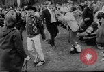 Image of hippies dancing at be-in Seattle Washington USA, 1967, second 16 stock footage video 65675073308