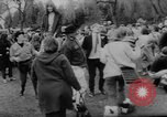 Image of hippies dancing at be-in Seattle Washington USA, 1967, second 17 stock footage video 65675073308