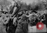 Image of hippies dancing at be-in Seattle Washington USA, 1967, second 18 stock footage video 65675073308