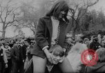 Image of hippies dancing at be-in Seattle Washington USA, 1967, second 19 stock footage video 65675073308