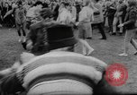 Image of hippies dancing at be-in Seattle Washington USA, 1967, second 21 stock footage video 65675073308