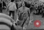 Image of hippies dancing at be-in Seattle Washington USA, 1967, second 23 stock footage video 65675073308