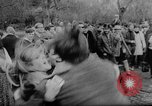 Image of hippies dancing at be-in Seattle Washington USA, 1967, second 25 stock footage video 65675073308