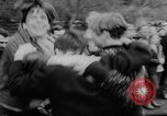 Image of hippies dancing at be-in Seattle Washington USA, 1967, second 26 stock footage video 65675073308