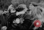Image of hippies dancing at be-in Seattle Washington USA, 1967, second 27 stock footage video 65675073308