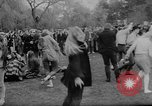 Image of hippies dancing at be-in Seattle Washington USA, 1967, second 30 stock footage video 65675073308