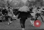 Image of hippies dancing at be-in Seattle Washington USA, 1967, second 31 stock footage video 65675073308