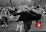 Image of hippies dancing at be-in Seattle Washington USA, 1967, second 33 stock footage video 65675073308