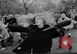 Image of hippies dancing at be-in Seattle Washington USA, 1967, second 34 stock footage video 65675073308