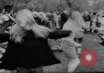 Image of hippies dancing at be-in Seattle Washington USA, 1967, second 35 stock footage video 65675073308