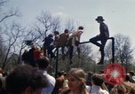 Image of Earth Day Washington DC USA, 1970, second 10 stock footage video 65675073313