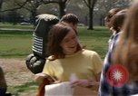 Image of Earth Day Washington DC USA, 1970, second 14 stock footage video 65675073313