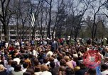 Image of Earth Day Washington DC USA, 1970, second 21 stock footage video 65675073313