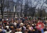 Image of Earth Day Washington DC USA, 1970, second 22 stock footage video 65675073313