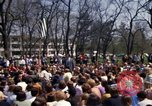Image of Earth Day Washington DC USA, 1970, second 24 stock footage video 65675073313