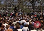 Image of Earth Day Washington DC USA, 1970, second 32 stock footage video 65675073313