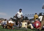 Image of Earth Day Washington DC USA, 1970, second 25 stock footage video 65675073315