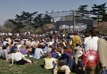 Image of Earth Day Washington DC USA, 1970, second 28 stock footage video 65675073315