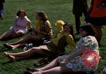 Image of Earth Day Washington DC USA, 1970, second 50 stock footage video 65675073315