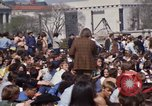 Image of Earth Day Washington DC USA, 1970, second 61 stock footage video 65675073315