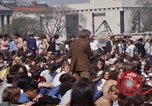 Image of Earth Day Washington DC USA, 1970, second 62 stock footage video 65675073315