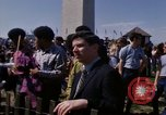 Image of Earth Day Washington DC USA, 1970, second 16 stock footage video 65675073317