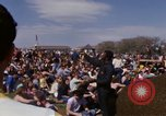 Image of Earth Day Washington DC USA, 1970, second 37 stock footage video 65675073317
