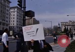 Image of Earth Day Washington DC USA, 1970, second 20 stock footage video 65675073322