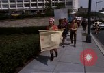 Image of Earth Day Washington DC USA, 1970, second 44 stock footage video 65675073322