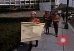 Image of Earth Day Washington DC USA, 1970, second 45 stock footage video 65675073322