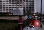 Image of Earth Day Washington DC USA, 1970, second 50 stock footage video 65675073322