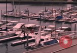 Image of harbor California United States USA, 1968, second 16 stock footage video 65675073326