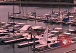 Image of harbor California United States USA, 1968, second 20 stock footage video 65675073326