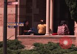 Image of American students Los Angeles California USA, 1968, second 44 stock footage video 65675073331
