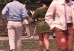 Image of American students Los Angeles California USA, 1968, second 52 stock footage video 65675073331